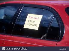 quot for sale quot sign car window market display sell sale ad