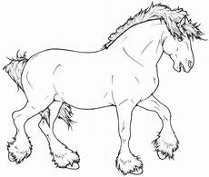 Ausmalbilder Pferde Shire Shire Lineart By Requay On Deviantart Coloring Pages