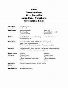 image result for skill based resume template resume exles sle resume student resume