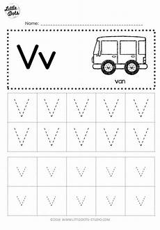 letter v tracing worksheets for preschool 23658 free letter v tracing worksheets dots education preschool printables and activities