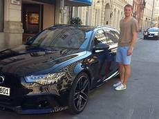 Müller Auto - manuel neuer takes delivery of his new audi rs6