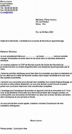 lettre de motivation contrat apprentissage laboite cv fr