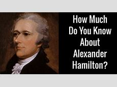 alexander hamilton children in order
