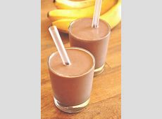chocolate banana cheesecake shake_image