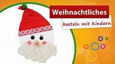 weihnachtliches basteln mit kindern nikolaus bastelidee