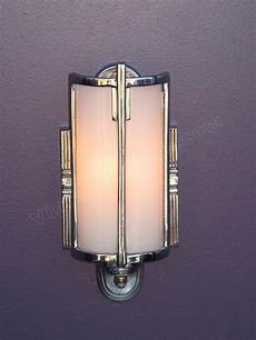 Vintage Bathroom Wall Lights vintage bathroom lighting antique mid 30s chrome vintage