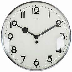 big kienzle bauhaus wall clock from the 1930s for sale at