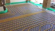 impianto termico a pavimento montaggio impianto di riscaldamento a pavimento con