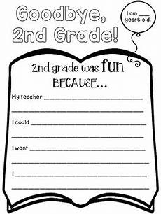 end of the school year worksheets for 2nd grade end of the year activities for second grade by dana s