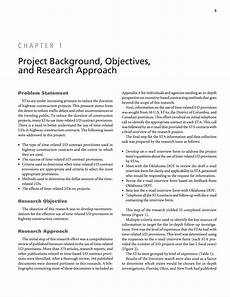 chapter 1 project background objectives and research
