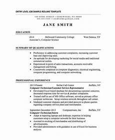 21 basic resumes exles for students internships com