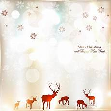 free vector illustration of vintage elegant merry christmas and happy new year star flake