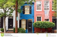 homes with a colorful city colorful houses on city stock photo image 10954640