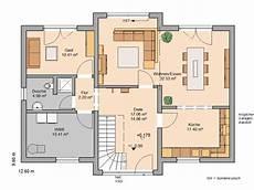 kern haus familienhaus aura grundriss erdgeschoss planos