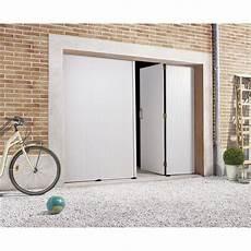 Porte De Garage Pliante Manuelle Primo H 200 X L 240 Cm