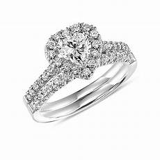0 87 ct sim heart shaped diamond bridal wedding ring in 14k white gold pl cz moissanite