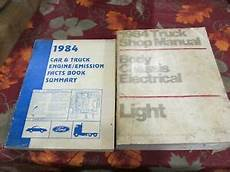 best auto repair manual 1984 ford f250 user handbook 1984 ford light duty f150 f 350 service repair manual engine emissions facts b ebay