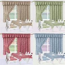 Kitchen Curtains On Sale by Clearance Sale Of Maddie Half Panama Floral Kitchen