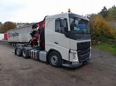 used volvo fh 500 6x2 szm crane trucks year 2019 price
