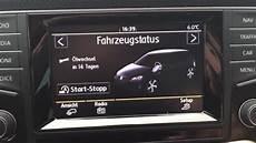 Vw Golf 7 Car Setup Auto Einstellungen Composition Media