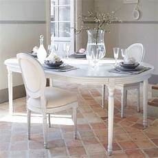 table 224 manger ronde extensible blanche 4 224 8 personnes