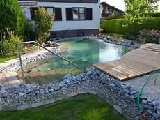 Schwimmteich Basic Gartengestaltung Zangl