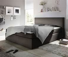 schlafzimmer bestellen boxspringbett stafford 180x200 cm grau abgesteppt m 246 bel
