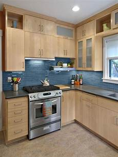 Kitchen Decorating Ideas With Maple Cabinets by 1 312 Contemporary Birch Cabinet Kitchen Design Ideas
