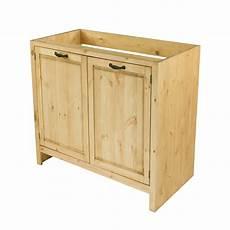 meuble sous 233 vier en pin massif 80 cm 2 portes grenier alpin