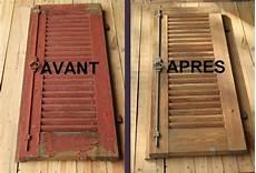 renovation volet bois faites sabler er r 233 nover vos volets bois par custo meubles