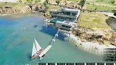 Gta Yacht Garage by Sunset Coast Mansion Pools Garage Yacht Gta5 Mods