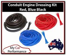 conduit engine dressing kits wire cable ties cover car electrical split ebay