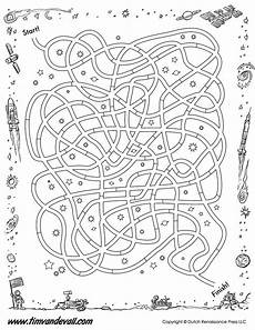 shapes worksheets in 1105 space maze printable bw tim s printables