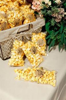 15 delicious wedding food favors popcorn wedding favors