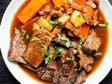 a la mode beef 224 la mode recipe food wine recipe