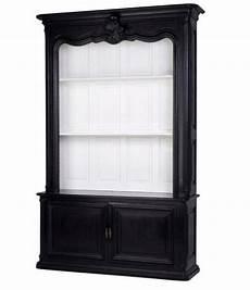 schrank schwarz casa padrino luxus b 252 cher schrank schwarz massivholz