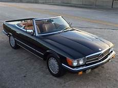 how does cars work 1985 mercedes benz sl class engine control 1985 mercedes benz 500sl w107 db 040 black original factory paint 67k miles for sale
