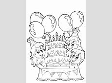 Kleurplaat feest: 29 kleurplaten voor tijdens een kinderfeest