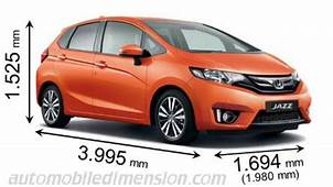 Honda Jazz 2015 Dimensions Boot Space And Interior