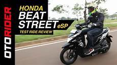 Honda Beat Modif Supermoto by Honda Beat Esp 2017 Test Ride Review Indonesia