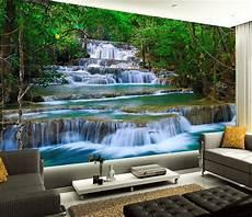 poster tapisserie geant papier peint photo paysage zen cascade dans la for 234 t