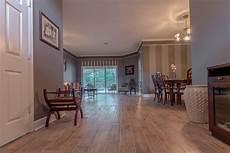Wood Look Tile Living Room