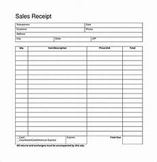 blank sales receipts templates blank receipt template 20 free word excel pdf vector