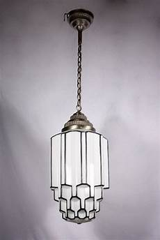 amazing antique art deco pendant light with skyscraper globe c 1930 s preservation station