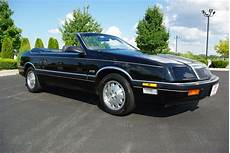 1988 Chrysler Lebaron Convertible Chrysler Lebaron