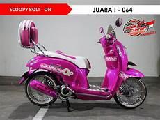 Modifikasi Scoopy 2016 by Honda Modif Contest 2016 Balikpapan Sulut Gairah Modifikasi