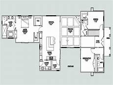 courtyard house plans u shaped u shaped one story house u shaped house plan with