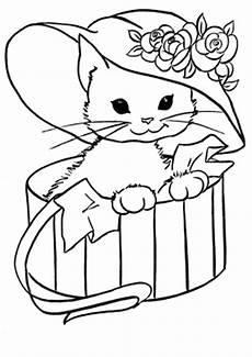 Ausmalbilder Geburtstag Katze Katzen Ausmalbilder 28 Ausmalbilder