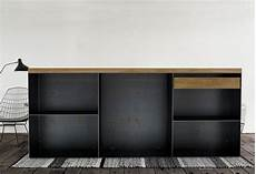 Kommode Schwarz Grau - kommode sideboard classic 001 schwarz grau eiche
