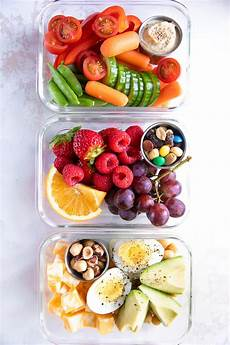 Snack Ideen - healthy on the go meal prep snack ideas the forked spoon